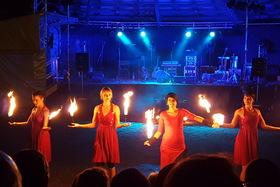 Bild: Irisches Feuermärchen - Musik, Artistik, Feuershow
