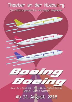 Bild: Boeing Boeing - Theater an der Niebuhrg