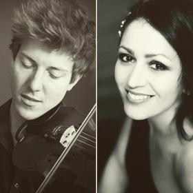 Bild: Jelena Stojkovic, Klavier und Sebastian Caspar, Violine - Sonaten für Violine und Klavier - Musik in fränkischen Schlössern