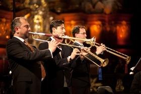 Bild: Barocktrompeten Ensemble Berlin - Musik in fränkischen Schlössern