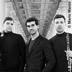 Bild: Pablo Barragán (Klarinette) Juan Pérez Floristán (Klavier) Andrei Ionita (Violoncello) - Fantasiestücke