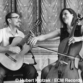 Bild: Anja Lechner – Violoncello  & Pablo Márquez – Gitarre - Die Nacht