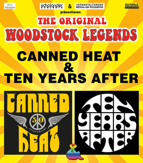 Bild: Legends of Woodstock - Canned Heat & Ten Years After