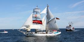 Bild: Segeltörn auf dem Traditionsschiff
