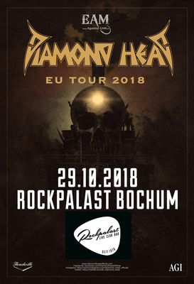 Diamond Head - EU Tour 2018