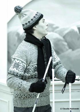 Bild: Drei Männer im Schnee - Zusatz Programm