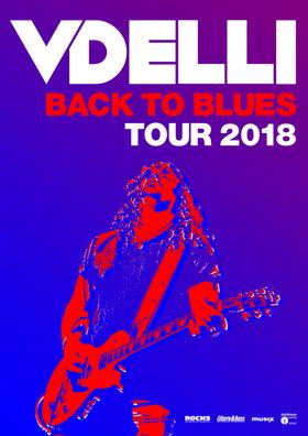 VDELLI - Back To Blues Tour 2018
