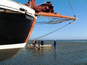 Bild: Wattenmeer-Safari mit Trockenfallen im Watt - Tagestörn