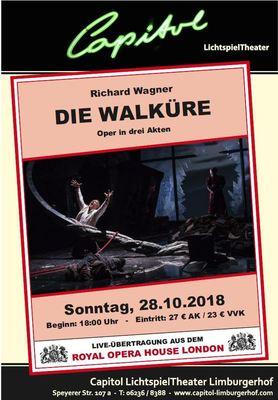 Bild: Die Walküre - Royal Opera House