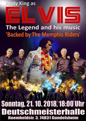 Bild: Andy King & The Memphis Riders