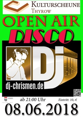 Bild: Open Air Disco - mit DJ Chrismen