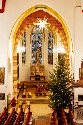 Bild: Orgelkonzert im Kerzenschein