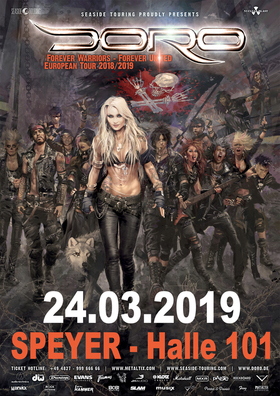 Bild: Doro - Forever Warriors - Forever United European Tour 2018/19