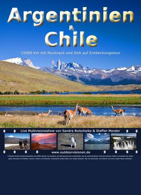 Bild: Multivisionsshow Argentinien & Chile - Vortrag von und mit Sandra Butscheike und Steffen Mender