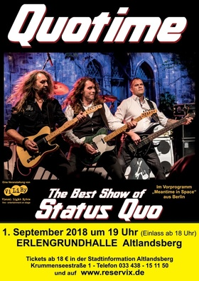 Bild: Quotime - The Best Show of Status Quo