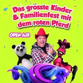 Bild: Das grösste Kinder- und Familienfest mit dem roten Pferd Open Air
