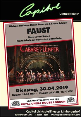 Bild: Faust - Royal Opera House