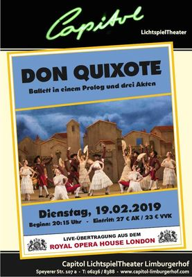 Bild:  Don Quixote - Royal Opera House