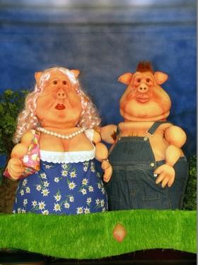 Bild: KIKERIKI THEATER in Neu Anspach - mit Erwin, ein Schweineleben