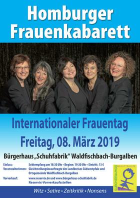 Bild: Internationaler Frauentag 2019 / Homburger Frauenkabarett