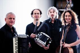 Bild: Paier Valcic Quartet - Klaus Paier, Asja Valcic, Stefan Gfrerrer, Roman Werni