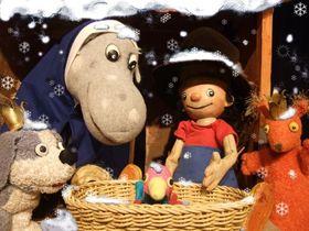 Bild: Der kleine König feiert Weihnachten - Figurentheater für Kinder ab 3 Jahren