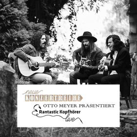 Bild: Otto Meyer präsentiert Rantastic-Kopfhörer live