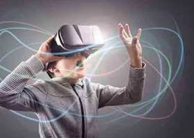 Bild: Skifahren im Sommer? - Virtual Reality mit der SG Stern