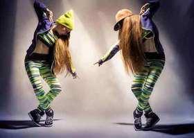 Bild: Hip-Hop und Video Clip Dance