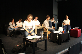 Bild: Theatergruppe Confusion: CHATROOM von Enda Walsh