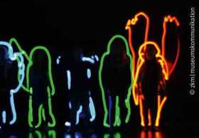 Bild: Light Graffiti for Family - Familienworkshop mit dem ZKM