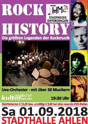 Bild: Differdinger Stadtmusik - ROCK HISTORY