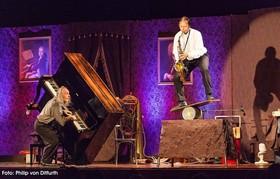 Bild: Gogol & Mäx - Humor in Concert - Akrobatische und musikalische Kunstfertigkeit