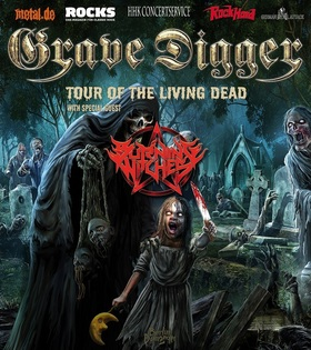 Bild: Grave Digger - Tour of the Living Dead - Special Guest: Burning Witches