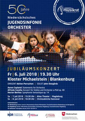 Bild: 50 Jahre Niedersächsisches Jugendsinfonieorchester