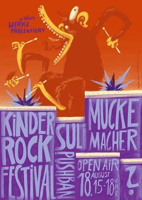 Bild: KINDER-ROCK-FESTIVAL im WERK 2 - Das 1. Open-Air-Rock-Festival für Kids ab 3J.!