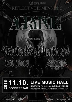 Bild: Agrypnie - Reflective Dimensions Tour 2018