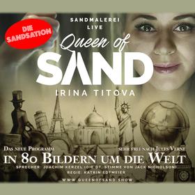 Bild: IRINA TITOVA - QUEEN OF SAND - In 80 Bildern um die Welt