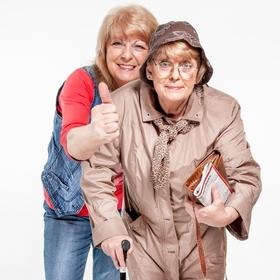 Altern ist nichts für Feiglinge - Jung bleiben! - Das neue Kabarettprogramm von Monika Blankenberg