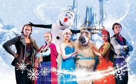 Bild: DIE  EISKÖNIGIN - Festliche Weihnachts- Sow in russischer Sprache