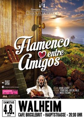 Bild: Wieder bei uns: Flamenco entre Amigos - Musik an einem Sommerabend in der Wagenhalle