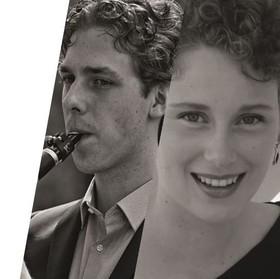 "Bild: Schwester-Bruder-Konzert  ""tRiaLog"" Sarah & Daniel Romberger, Fil Liotis"