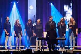 Bild: Grand Prix der Popchöre - Wettbewerb mit sieben jungen Chören