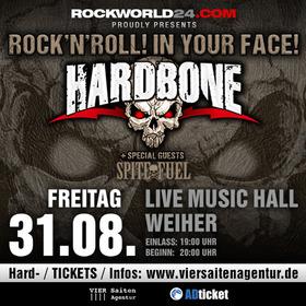 Bild: Hardbone - Rock 'n' Roll! In Your Face!