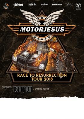 Bild: MOTORJESUS - Race To Resurrection Tour 2018