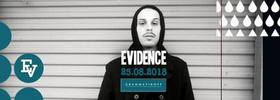 Bild: Evidence ( Dilated Peoples , Rhymesayers ) Support : Fashawn