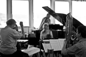Bild: Donaueschinger Musiktage 2018 - 6a Konzert  – Klaus Lang, Agata Zubel, Rolf Wallin