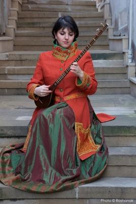 Bild: Klangkosmos Weltmusik - Sepideh Raissadat (Iran)