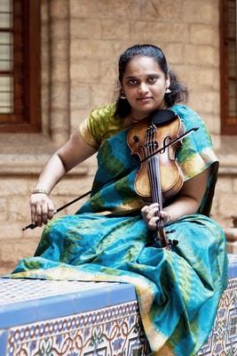Bild: Klangkosmos Weltmusik - Jyotsna Srikanth (Süd-Indien)