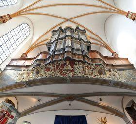 Bild: Auf dem Weg nach Santiago - Span. Orgelmusik u. Bildbetrachtung